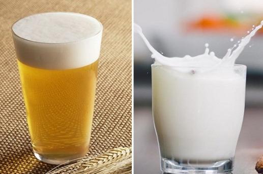 Bia và sữa tươi chăm sóc tóc hiệu quả