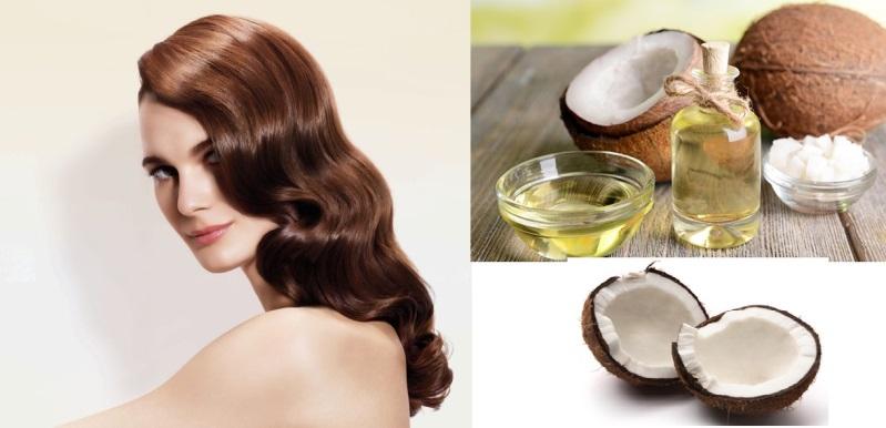 Lợi ích của việc ủ tóc bằng dầu dừa qua đêm